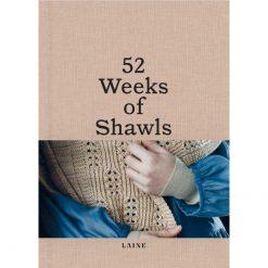 Laine Magazine - 52 Weeks of Shawls - Cover